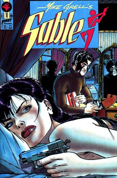 Cover for Mike Grell's Sable (First, 1990 series) #10