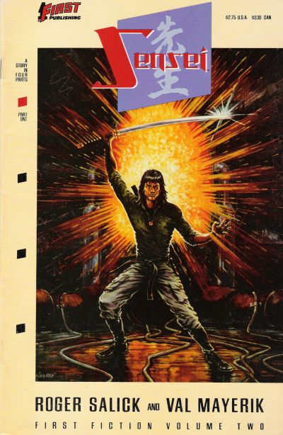 Cover for Sensei (First, 1989 series) #1