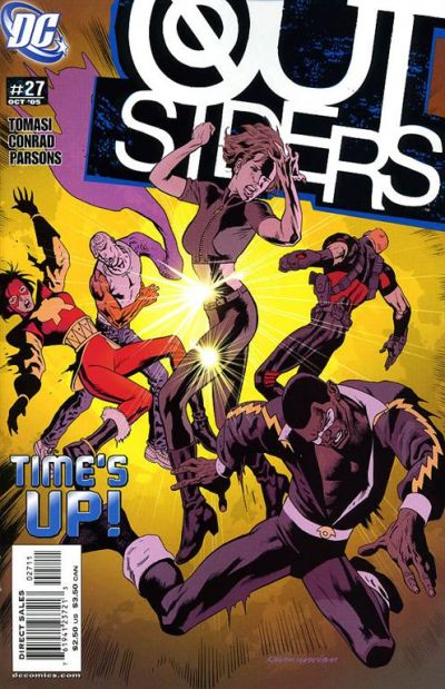 Cover for Outsiders (DC, 2003 series) #27