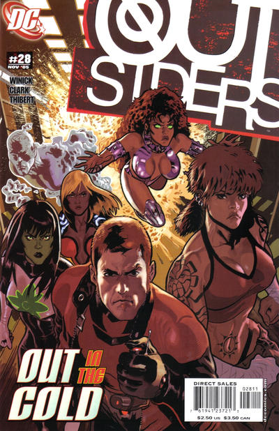 Cover for Outsiders (DC, 2003 series) #28