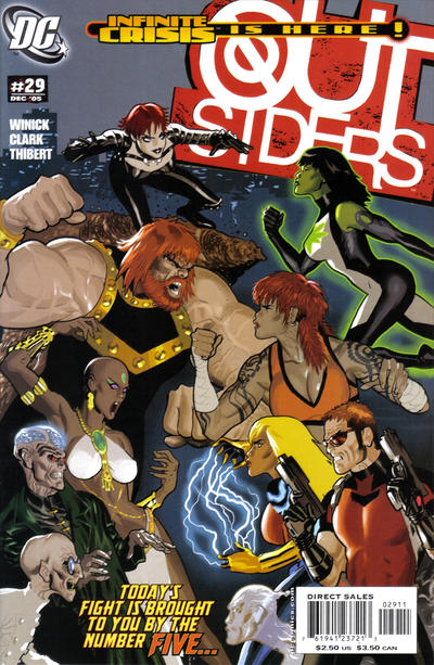 Cover for Outsiders (DC, 2003 series) #29