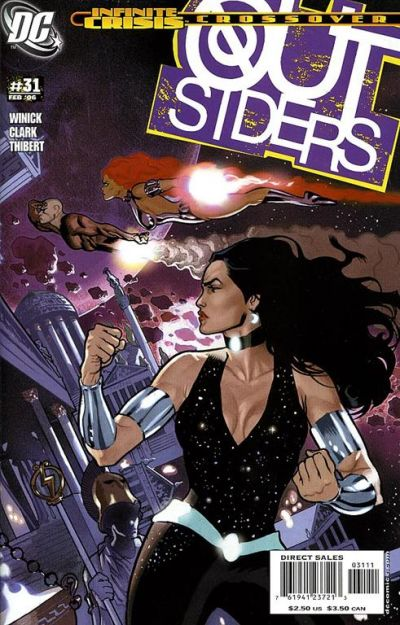 Cover for Outsiders (DC, 2003 series) #31