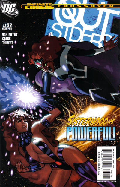Cover for Outsiders (DC, 2003 series) #32