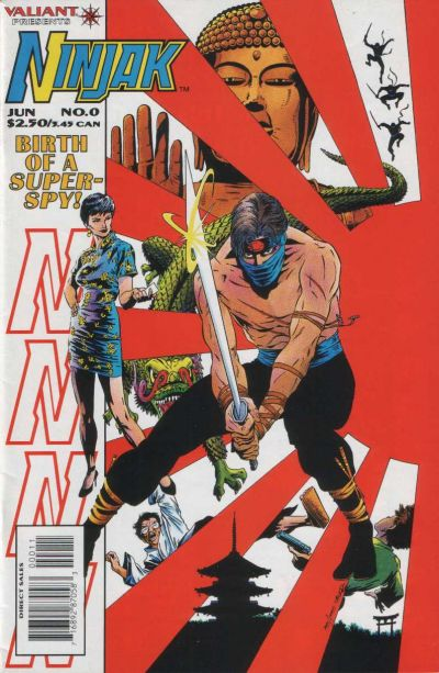 Cover for Ninjak (Acclaim / Valiant, 1994 series) #0