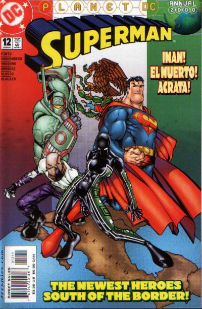 Cover for Superman Annual (DC, 1987 series) #12 [Direct Sales]