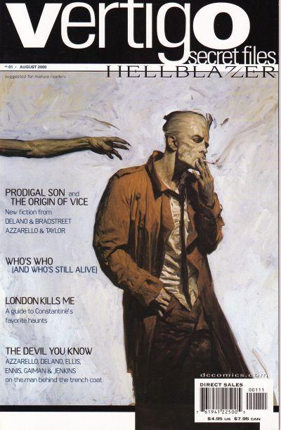 Cover for Vertigo Secret Files: Hellblazer (DC, 2000 series) #1