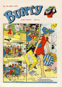 Cover Thumbnail for Bunty (D.C. Thomson, 1958 series) #721