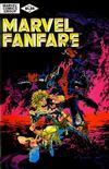 Cover for Marvel Fanfare (Marvel, 1982 series) #2