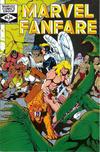 Cover for Marvel Fanfare (Marvel, 1982 series) #4