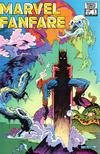 Cover for Marvel Fanfare (Marvel, 1982 series) #6