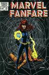 Cover for Marvel Fanfare (Marvel, 1982 series) #10