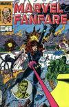 Cover for Marvel Fanfare (Marvel, 1982 series) #11
