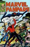 Cover for Marvel Fanfare (Marvel, 1982 series) #16