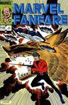 Cover for Marvel Fanfare (Marvel, 1982 series) #17
