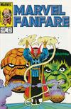 Cover for Marvel Fanfare (Marvel, 1982 series) #21