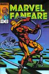 Cover for Marvel Fanfare (Marvel, 1982 series) #23