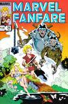 Cover for Marvel Fanfare (Marvel, 1982 series) #24