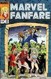 Cover for Marvel Fanfare (Marvel, 1982 series) #25