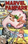 Cover for Marvel Fanfare (Marvel, 1982 series) #33