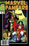 Cover for Marvel Fanfare (Marvel, 1982 series) #43
