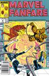 Cover for Marvel Fanfare (Marvel, 1982 series) #46