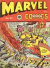 Cover for Marvel Mystery Comics (Marvel, 1939 series) #21