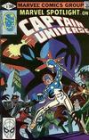 Cover for Marvel Spotlight (Marvel, 1979 series) #9 [Direct]