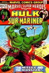 Cover for Marvel Super-Heroes (Marvel, 1967 series) #40