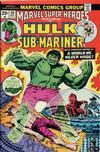 Cover for Marvel Super-Heroes (Marvel, 1967 series) #50