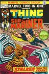 Cover for Marvel Two-in-One (Marvel, 1974 series) #2
