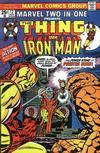 Cover for Marvel Two-in-One (Marvel, 1974 series) #12 [Regular]