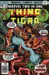 Cover for Marvel Two-in-One (Marvel, 1974 series) #19 [Regular]