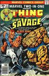 Cover for Marvel Two-in-One (Marvel, 1974 series) #21 [Regular]