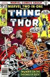 Cover for Marvel Two-in-One (Marvel, 1974 series) #22 [Regular]