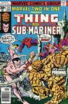 Cover for Marvel Two-in-One (Marvel, 1974 series) #28 [30¢]