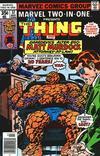 Cover for Marvel Two-in-One (Marvel, 1974 series) #37 [Regular]