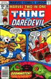 Cover for Marvel Two-in-One (Marvel, 1974 series) #38 [Regular Edition]