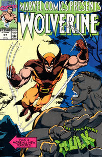 Cover Thumbnail for Marvel Comics Presents (Marvel, 1988 series) #57 [Direct]