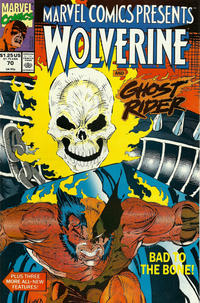 Cover Thumbnail for Marvel Comics Presents (Marvel, 1988 series) #70 [Direct]