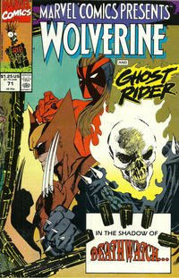 Cover Thumbnail for Marvel Comics Presents (Marvel, 1988 series) #71 [Direct]