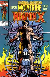 Cover Thumbnail for Marvel Comics Presents (Marvel, 1988 series) #72 [Direct]
