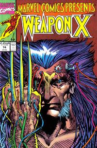 Cover Thumbnail for Marvel Comics Presents (Marvel, 1988 series) #74 [Direct]