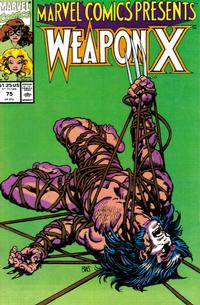 Cover Thumbnail for Marvel Comics Presents (Marvel, 1988 series) #75 [Direct]