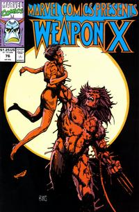 Cover Thumbnail for Marvel Comics Presents (Marvel, 1988 series) #76 [Direct]
