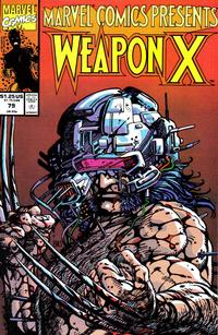 Cover Thumbnail for Marvel Comics Presents (Marvel, 1988 series) #79 [Direct]
