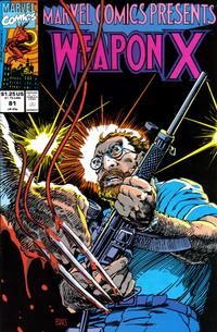 Cover Thumbnail for Marvel Comics Presents (Marvel, 1988 series) #81 [Direct]