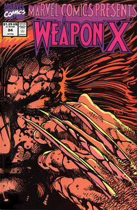 Cover Thumbnail for Marvel Comics Presents (Marvel, 1988 series) #84 [Direct]