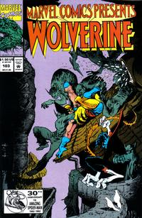 Cover Thumbnail for Marvel Comics Presents (Marvel, 1988 series) #103 [Direct]