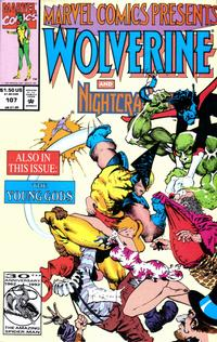 Cover Thumbnail for Marvel Comics Presents (Marvel, 1988 series) #107 [Direct]