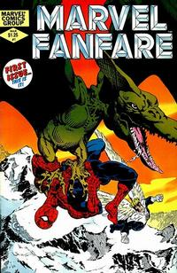Cover Thumbnail for Marvel Fanfare (Marvel, 1982 series) #1